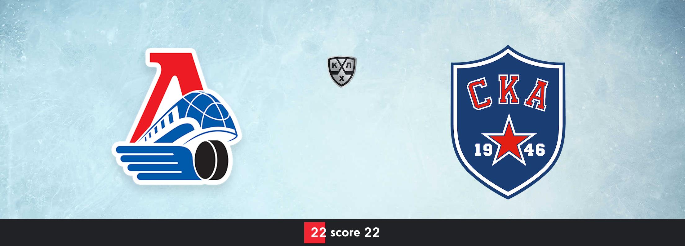 Хоккей  КХЛ. Локомотив Ярославль — СКА 07.01.2021